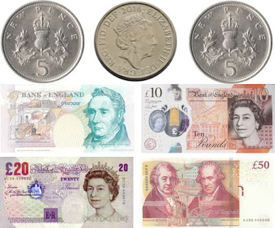 Great Britain pound sterling