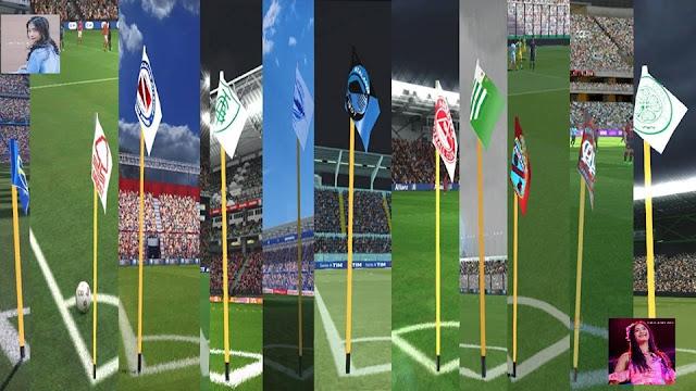 PES 2017 Corner Flag Pack For by PES Rmd 48