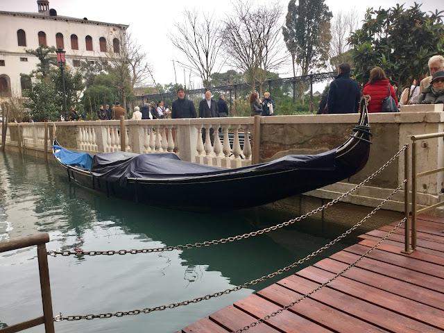 Royal Gardens in Venice, drawbridge, photo by Cat Bauer Venice Insider Blog