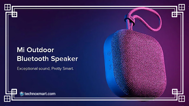 xiaomi,mi outdoor bluetooth speaker,xiaomi mi outdoor bluetooth speaker,xiaomi mi outdoor bluetooth speaker launched,