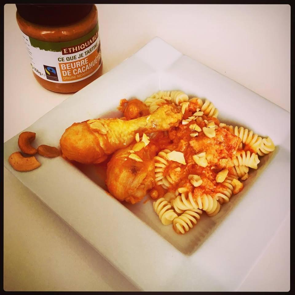 Poulet Mascarpone Tomates Beurre De Cacahuete Au Cookeo Sab En