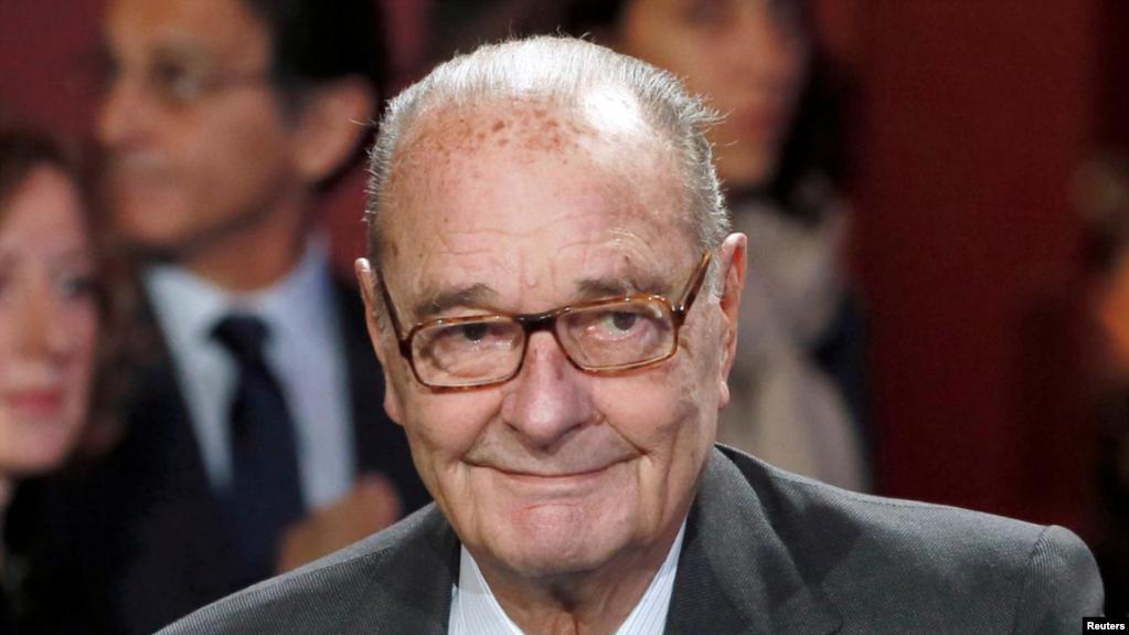 El presidente Jacques Chirac murió a los 86 años el jueves 26 de septiembre de 2019 / REUTERS