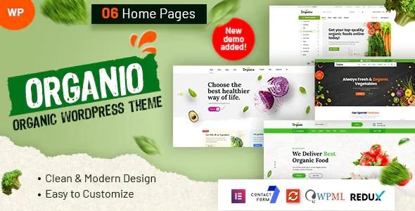 Best Organic Food Store WordPress Theme