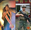 "Salute!!! Teresita Ssen ""Winwyn"" Marquez graduated as the Top 1 Cadet in this year's Basic Citizen Military Course (BCMC),joins the PH Marines"