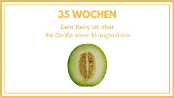 35 Wochen schwanger