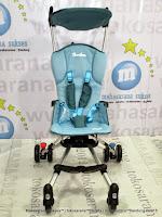 Depan Kereta Bayi CocoLatte CL89 iFlex Lightweight - Blue