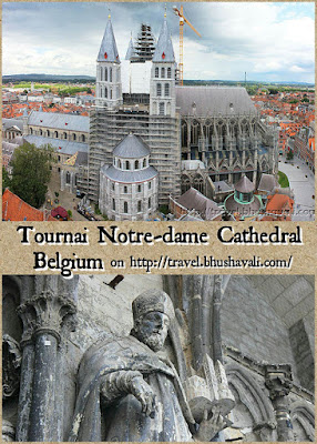 Tournai Notre Dame Cathedral Pinterest