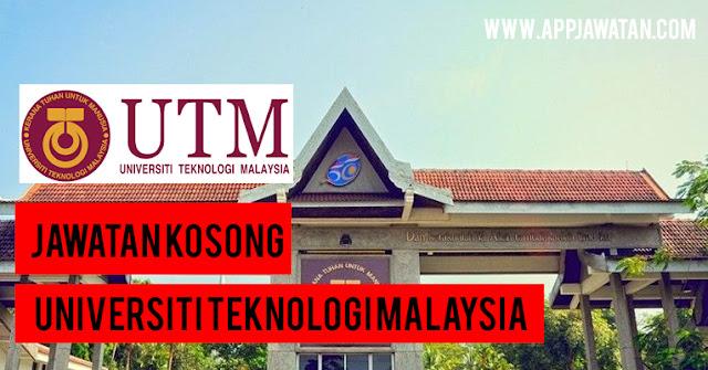 Jawatan Kosong di Universiti Teknologi Malaysia