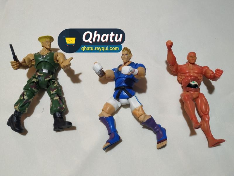(Bs. 75) Combo Street Fighter: figuras de colección