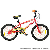20 Wimcycle Dragster BMX Red