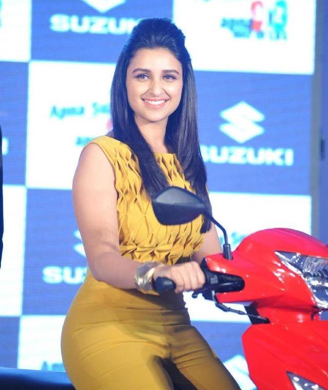Parineeti Chopra Salman Khan launch New Suzuki Bike