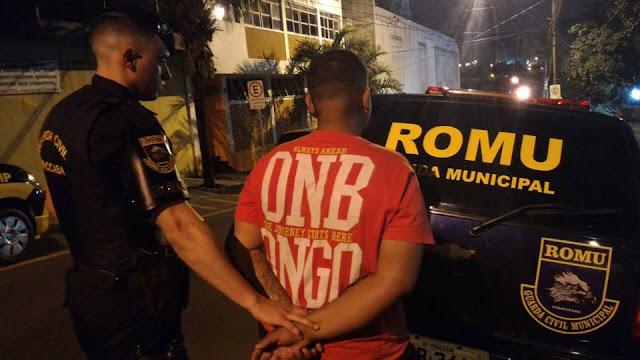 ROMU de Piracicaba apreende menor por tráfico de entorpecentes pelo bairro Algodoal