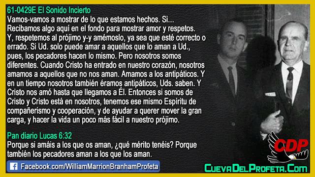 Vamos a mostrar de lo que estamos hechos - William Branham en Español