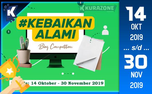 Kompetisi Blog - Herbadrink Natural Berhadiah Gadget Menarik dan Voucher OVO/GOPAY