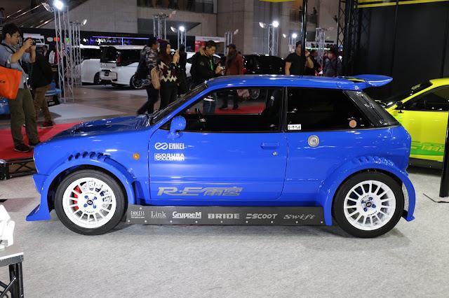 małe samochody po tuningu, ciekawostki z Japonii, Mazda Chantez, RE Amemiya