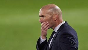 Pelatih Real Madrid Zinedine Zidane Dinyatakan Positif Covid-19