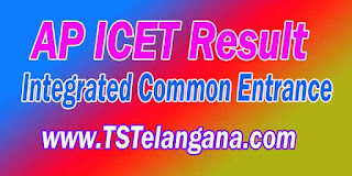 AP ICET Result 2016 APICET AndhraPradesh Integrated Common Entrance Test Merit apicet.nic.in
