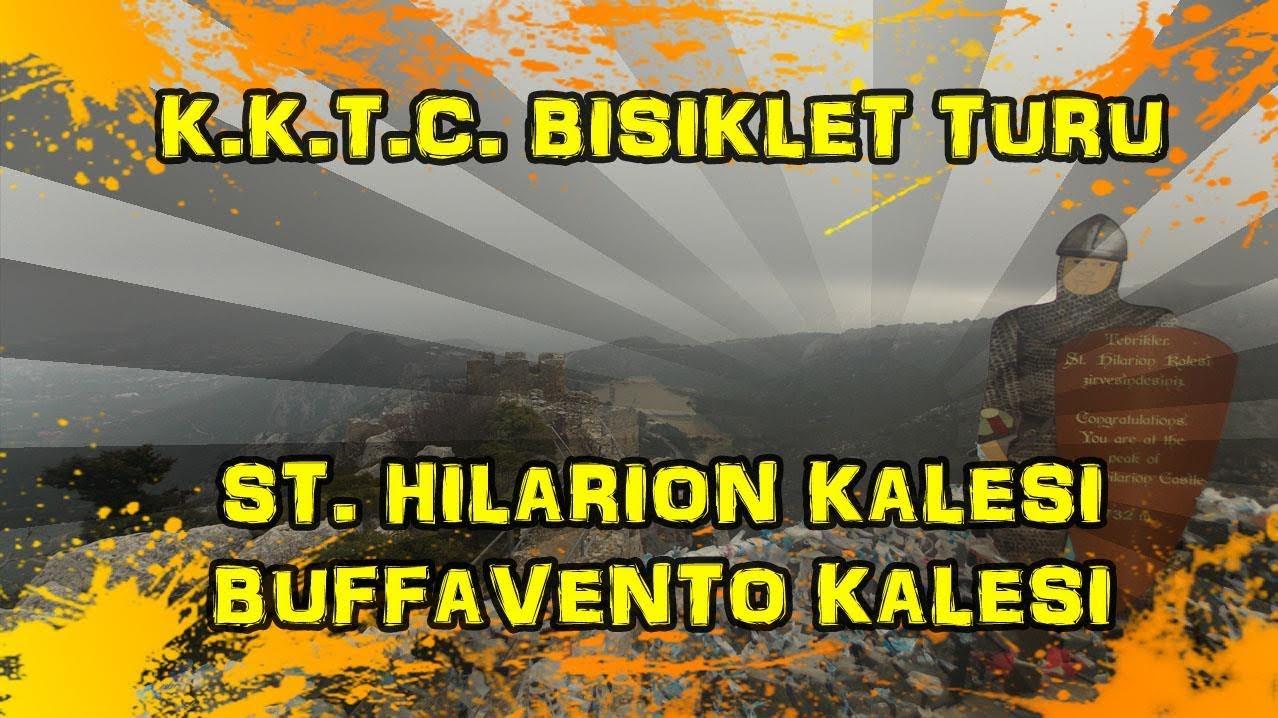 2018/12/16 K.K.T.C. Bisiklet Turu - St. Hilarion Kalesi & Buffavento Kalesi