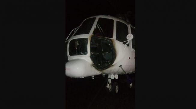 Polisi Akhirnya Ungkap Motif KKB Papua Bakar Helikopter