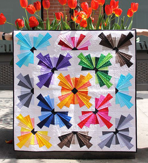 Spin Basic Blown Away - Free Quilt Pattern