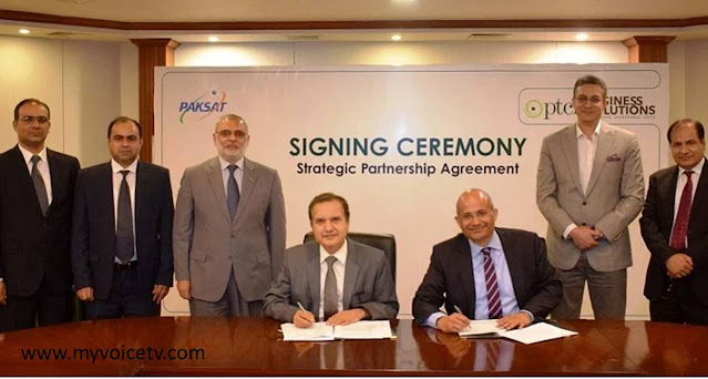PTCL sign partnership with PAKSAT for indigenization & delivering satellite services in Pakistan & region