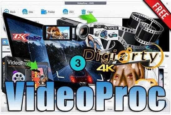 تحميل وتفعيل برنامج VideoProc عملاق تعديل الفيديو وإضافة المؤثرات اخر اصدار