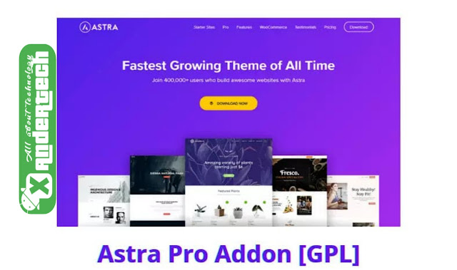 Download Astra Pro v3.5.2 Addon + WP Portfolio v1.11.3