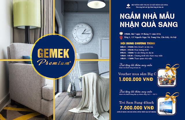 Mở bán Gemek Premium