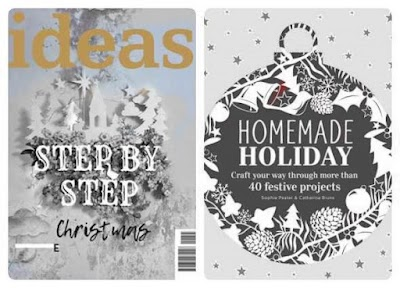 2 Revistas Navidad con manualidades hogareñas