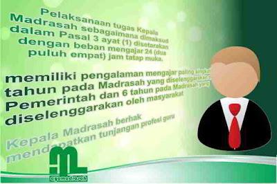wacana Kepala Madrasah ditetapkan sebagai pengganti peraturan sebelumnya yakni PMA Nomor PMA Nomor 58 Tahun 2017 Tentang Kepala Madrasah