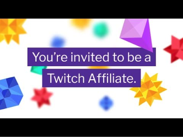 When you're streaming video games via Twitch, you might be invited to the Twitch Affiliate program.