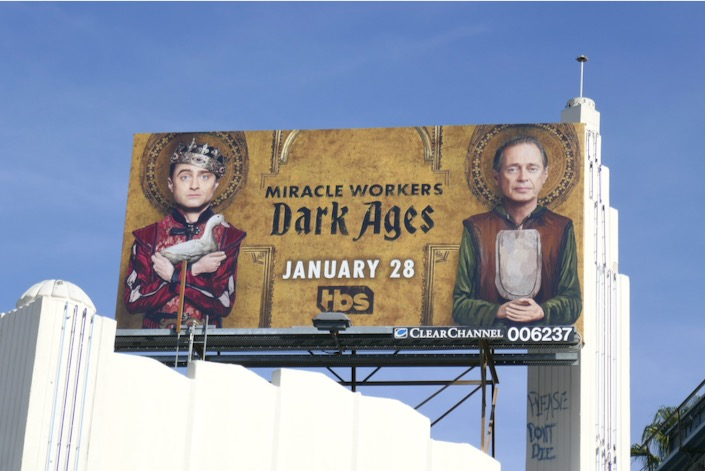 Miracle Workers Dark Ages S2 billboard