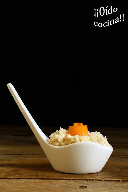 Ensaladilla de quinoa mar y montaña