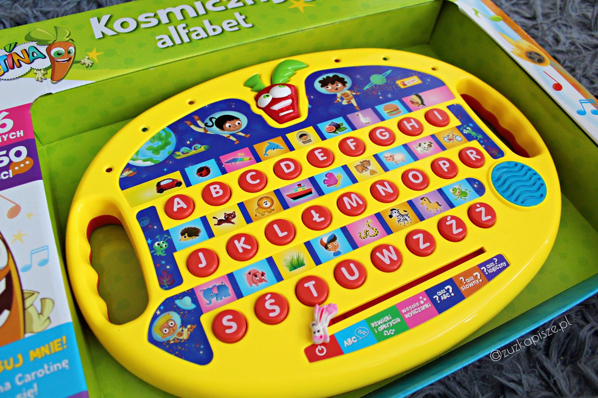 Dante - Kosmiczny alfabet CAROTINA - recenzja zabawki