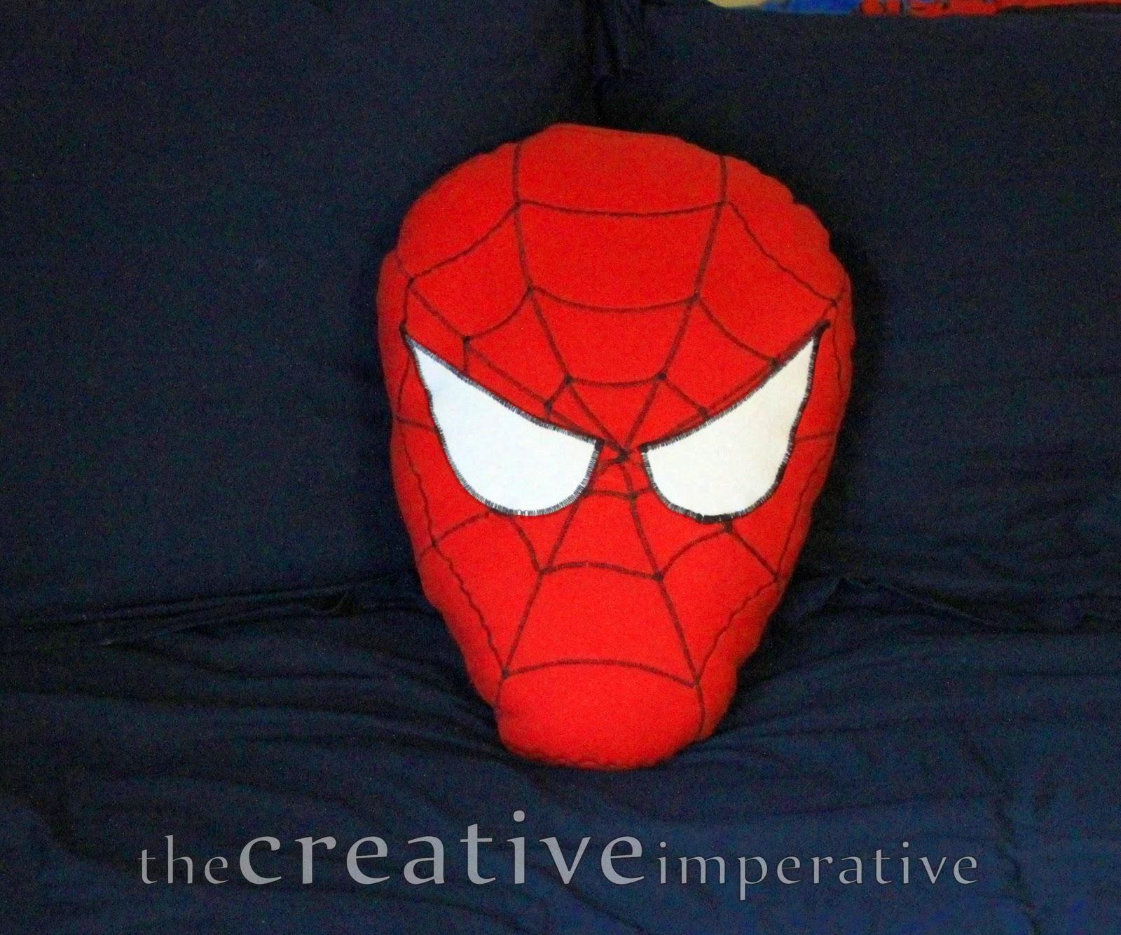 The Creative Imperative Spiderman Pillow Tutorial