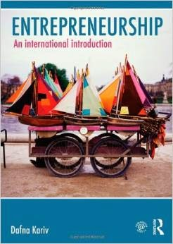 Entrepreneurship An International Introduction By Dafna Kariv