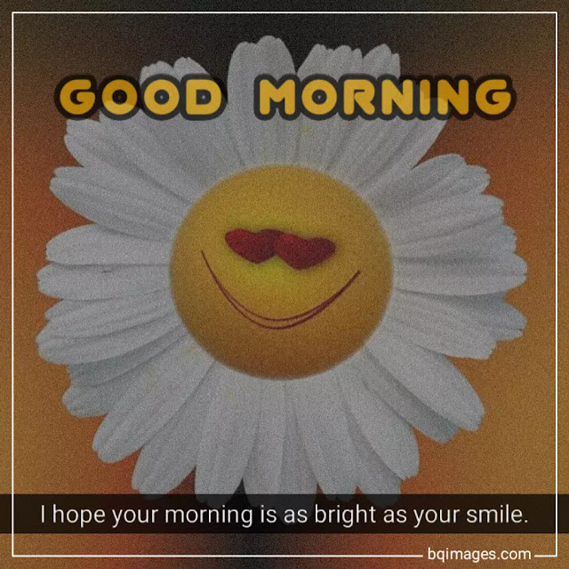 good morning images with smile quotes