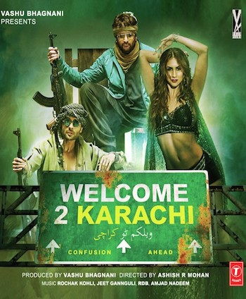 Welcome 2 Karachi Full movie Download (2015) 480p 350mb
