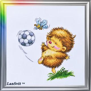 Cross-stitch Lan Svit D-044 «Sports Day»