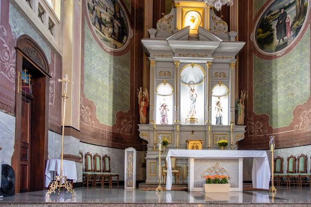 Igreja Imaculado Coração de Maria - interior - altar principal