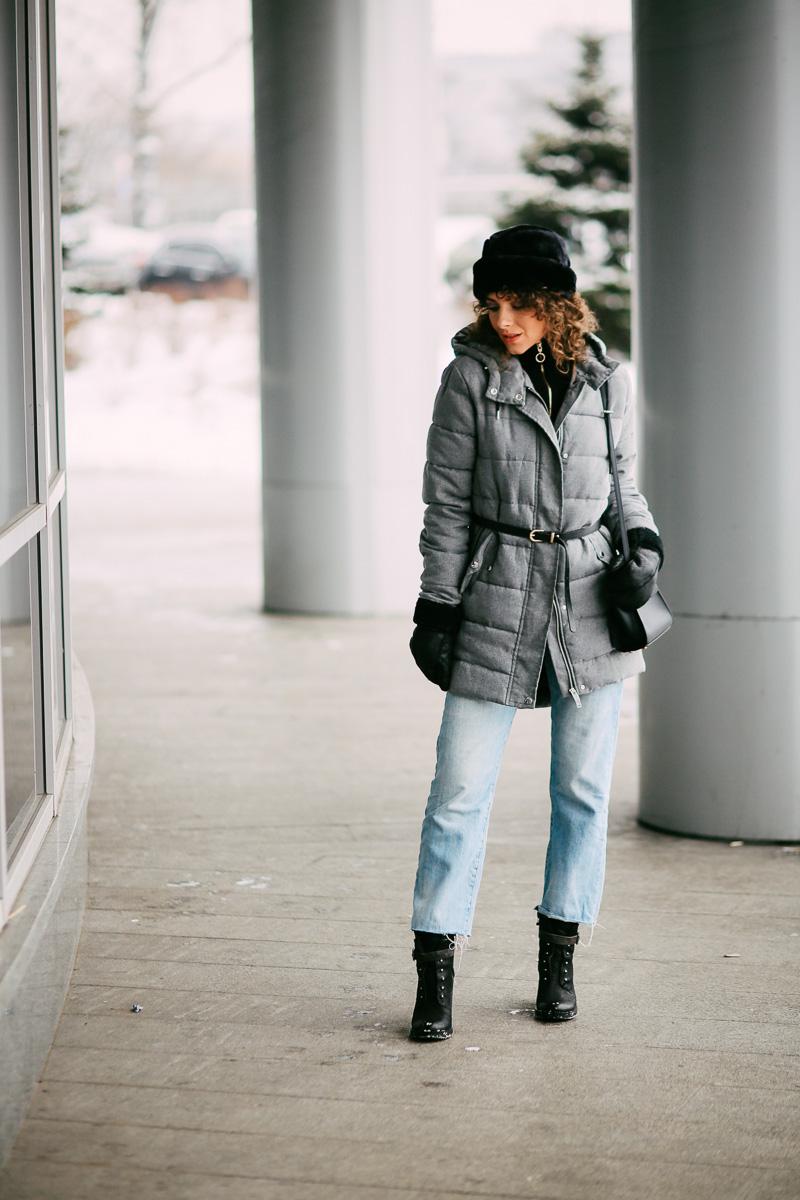 стильное сочетание в одежде