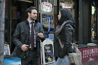 Krysten Ritter and Charlie Cox in The Defenders Series (8)