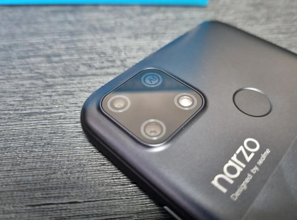 realme Narzo 30A 13MP Dual-Rear Cameras