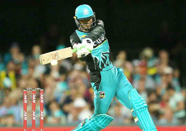 Rahman booked his record on BBL batting
