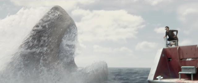 Megatubarão vai além de sustos em alto mar