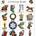 Bingo de navidad para imprimir y jugar