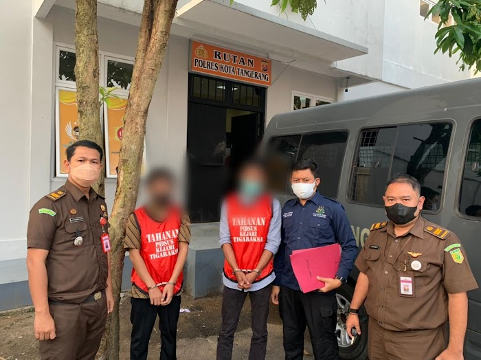 Dua Oknum Pendamping PKH di Kabupaten Tangerang Ditahan Kejaksaan Negeri