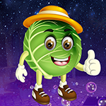 G4K Amusing Green Cabbage Escape