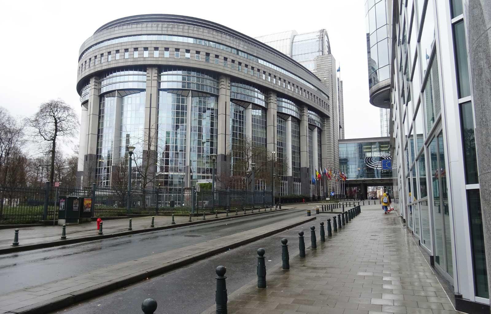 week-end à Bruxelles Parlement européen