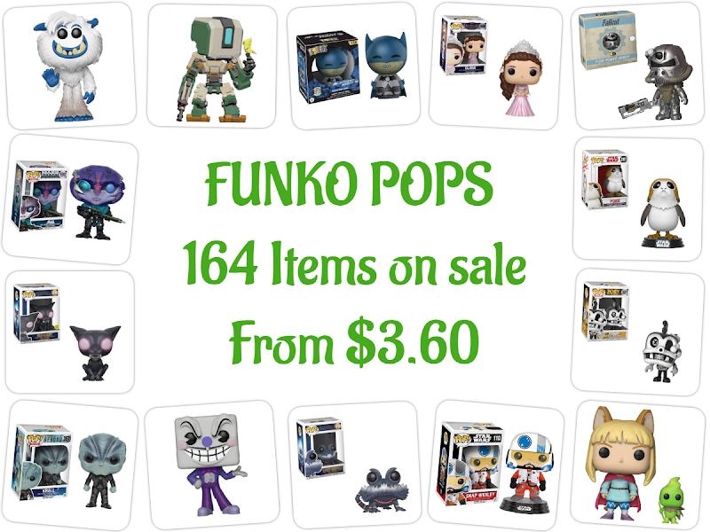 FUNKO POPS 164 Items on sale